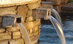Stone Scuppers for Pools