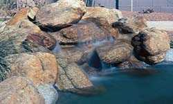 Small Natural Rock WaterFall for Pools